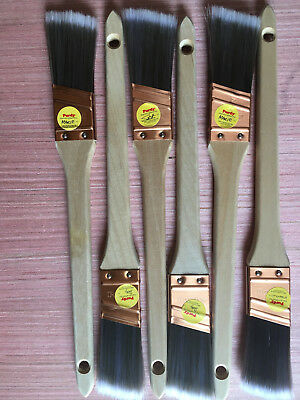 NEW! Set of 6 PURDY 1 inch PAINT BRUSHES  (Nick)