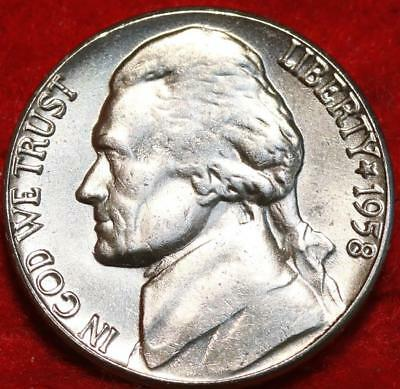 Uncirculated 1959-D Denver Mint Jefferson Nickel