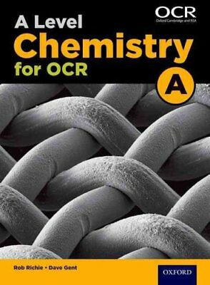 A Level Chemistry A for OCR Student Book by Rob Ritchie 9780198351979