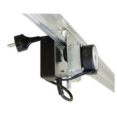 Motorized Lighting System with Magnetic Switch (Rail Light Mover)