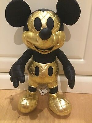 Mickey Mouse Memories August Plush Limited Edition UK Disney Store