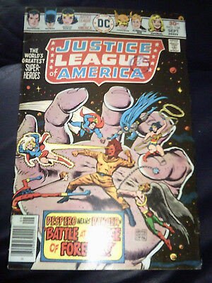 Justice League of America #134 Sept 1976 (FN+) Bronze Age