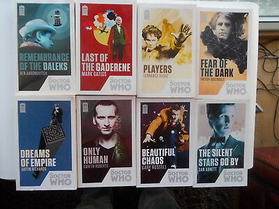 Job Lot of Doctor Who 50th Anniversary Paperback Books (X8)