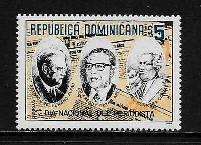 Dominican Rep #1222 Mint Never Hinged Stamp - Journalist Day