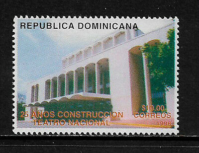 Dominican Rep #1283 Mint Never Hinged Stamp - National Theater