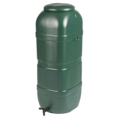 Water Butt Tank container + Lid & Tap Slimline (100L)
