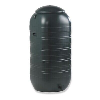 Water Butt Tank container + Lid & Tap Slimline (250L)