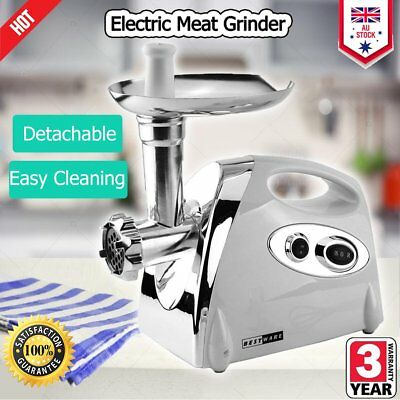Mincer Electric Meat Grinder Tomato Sauce Maker Kibbe Maker Sausage Filler E3E