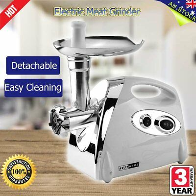NEW Meat Grinder Electric Commercial Mincer Sausage Filler Kebbe Maker R4R