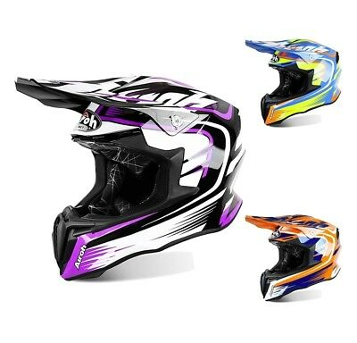 Airoh Crosshelm Twist Mix Motocross leichter Enduro MX Helm
