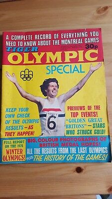 Tiger Comic - Olympic Special Edition 1976 - Montreal - Rare