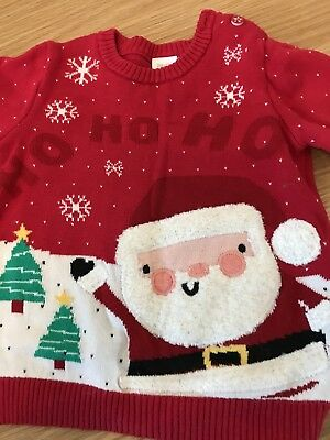 Baby Girls Christmas Jumper 9-12 Months