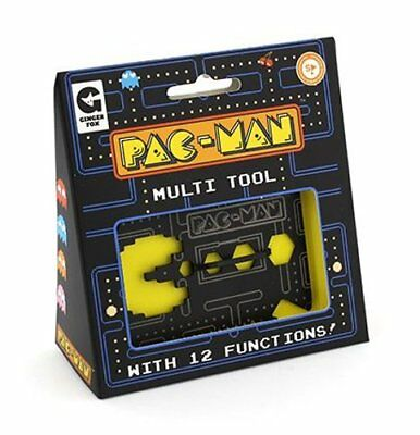 PACMAN MULTI-TOOL Pocket Size Metal 12 Functions BOTTLE OPENER Screwdriver