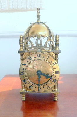 SMITHS Brass Lantern Clock With Mechanical Movement for repair