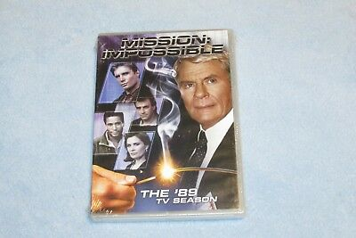 Mission: Impossible - The 89 TV Season (DVD, 2012, 4-Disc Set) NEW & SEALED