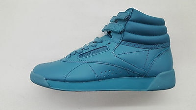 920e9022072 Reebok Freestyle Hi Color Bomb Mineral Mist White Womens Sneakers Bs7860