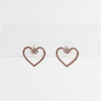 ac3adc69decc6 NWT - KATE spade new york - yours truly - pave heart stud earrings ...