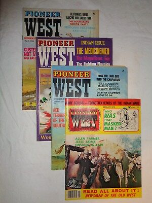 Old Magazines - 9 Vintage Mixed Titles of Western Magazines~60s & 70s