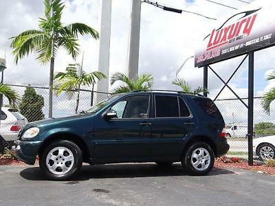 M-Class Mercedes ML-Class AWD ML350 ML 4WD 350 4Matic 2004 Mercedes ML350 AWD * NO RESERVE AUCTION * LOW MILES NO RUST CAR FLORIDA
