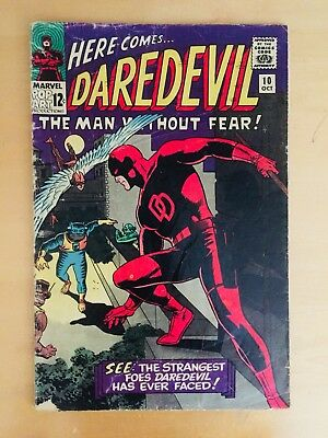 Daredevil #10 (Oct 1965, Marvel)