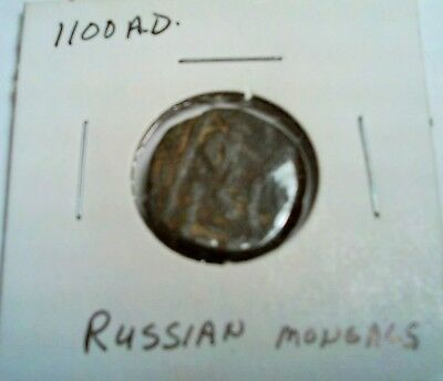 Russia 1100 Ad Russian Mongols Coin Look