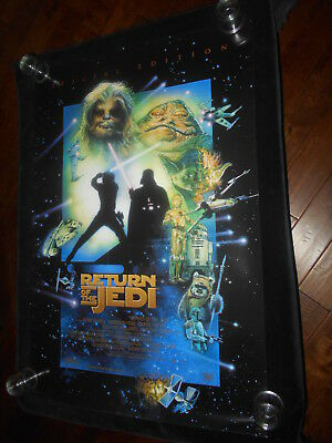 Return Of The Jedi Star Wars Special Edition Original Rolled One Sheet Poster DS