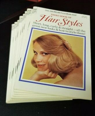 1978 DELL PURSE BOOK 3503 THIRD BOOK of HAIR STYLES