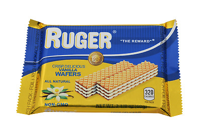 Ruger Wafer 8-56293-00301-9 Vanilla Australian Wafers 12 pack