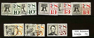 USA 1959 Airmails