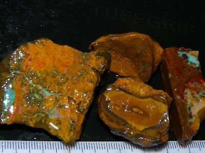 Nice Rough/Sliced Matrix Opal Parcel 403cts Pods/Nuts/Patterns Some Fires/Veins