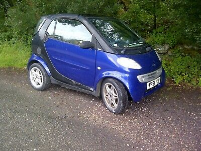 2002 (52) Smart Fortwo City Coupe. Low mileage. MOT Aug 2019