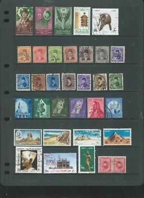 Egypt lot 1 selection of stamps, good range of issues (963]
