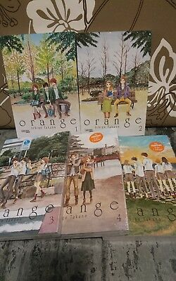 Orange Band 1-5 Manga