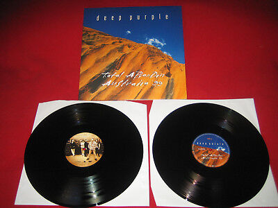 HARDROCK  2 Lp   DEEP PURPLE  TOTAL A BANDON  AUSTRALIA 99  TOP