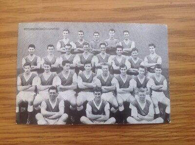 Peterborough United Black & White Photo Star Teams Of 1961The Victor Comic No. 7
