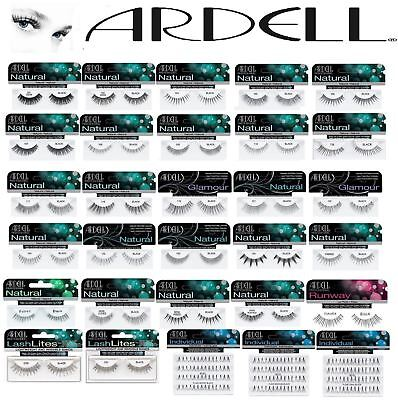 Ardell 100% Human Hair False Eyelashes Fashion/Glamour/Natural/Adhesive/Magnetic