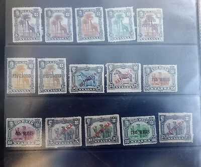 Stamps Used Mm Nyassa Portuguese Colony