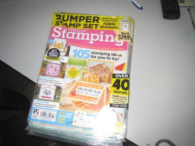 Creative Stamping magazines sealed Issue 59 Bumper stamp set