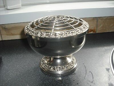 Ianthe Silver Plated Rose Bowl