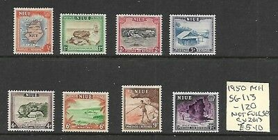 (g687) NIUE, 1950 MH Stamps, Not Full Set