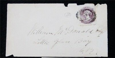 nystamps Canada Nova Scotia Stamp Used Rare Early Cover