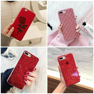 Bling Glitter Luxury Cute Case Protective Cover For iPhone 7 8 Plus Xs Max XR