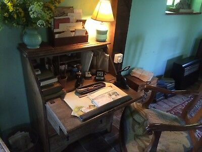 Antique Edwardian dressing writing table