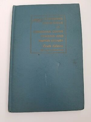 Standard Catalogue of Canadian Coins Tokens and Paper Money Charlton 1962