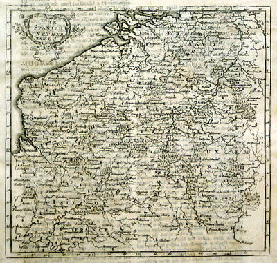 Europe Maps Antiques 1720 Herman Moll Large Antique Pre Revolutionary Map Of France In Provinces