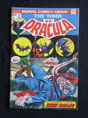 Tomb of Dracula #15 MARVEL 1973 - HIGH GRADE - Stan Lee, bronze age comics!!!