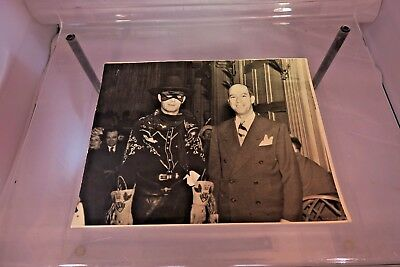 The Lone Ranger Autographed Photograph at Dinner Function - 1950's