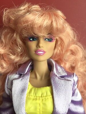 """INTEGRITY FR Jem & The Holograms IN STITCHES 12"""" JEM FASHION Doll No Shoes/Stand"""