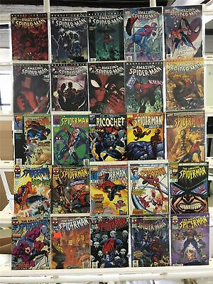 Amazing Spiderman 25 Book Box 14 Lot 25 Comic Book Collection Set Run