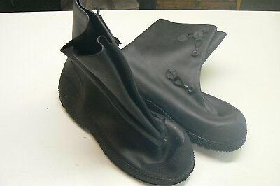 North Safety Rubber Chemical Resistant Boots / Size XL 14-15